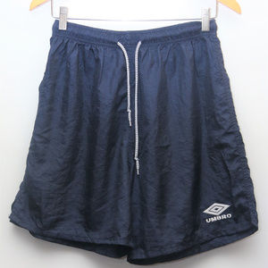 90's UMBRO Navy Blue Spell Out Athletic Shorts